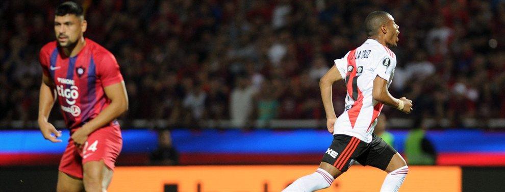 River eliminó a Cerro Porteño y se enfrentará con Boca en la semifinal de la Copa Libertadores.