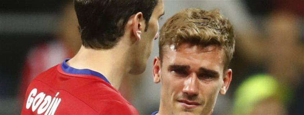 El jugador dejó el Atlético de Madrid y se arrepiente de haber dejado al Cholo Simeone y sus ex compañeros