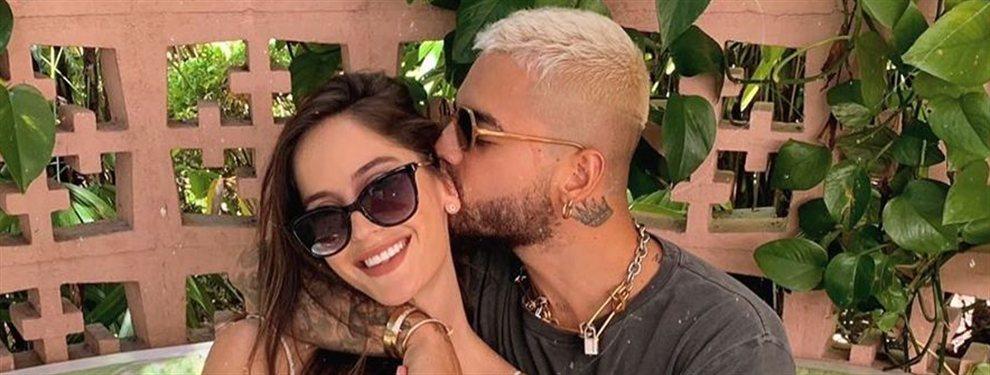 Menuda retaguardia! Natalia Barulich a lo Kyle Jenner:La novia de Maluma eleva la temperatura en redes