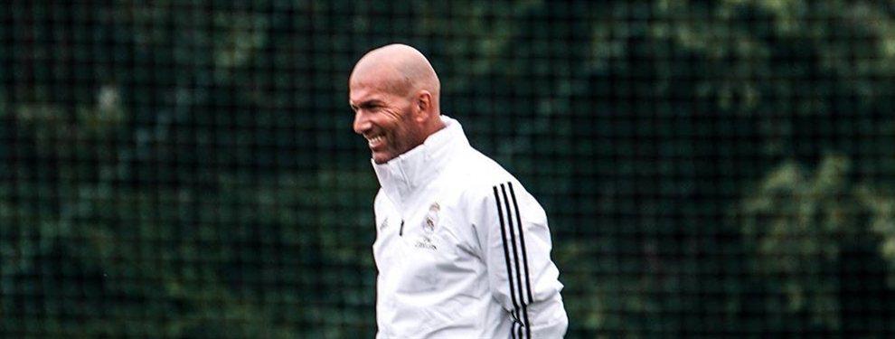 ¡ÚLTIMA HORA! Zidane deja abiertas todas las posibilidades:El entrenador del club blanco deja todas las puertas abiertas, nadie sabe lo que puede pasar