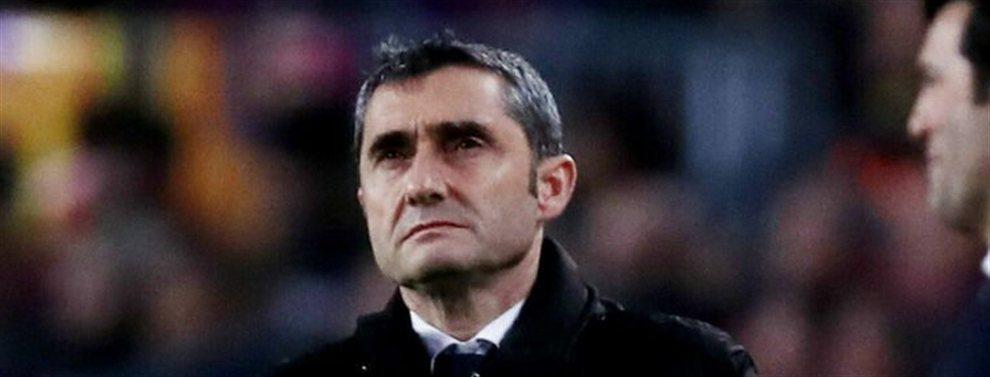 Ernesto Valverde no puede hablar más claro:El técnico del Barcelona se baña en su propia lluvia de críticas