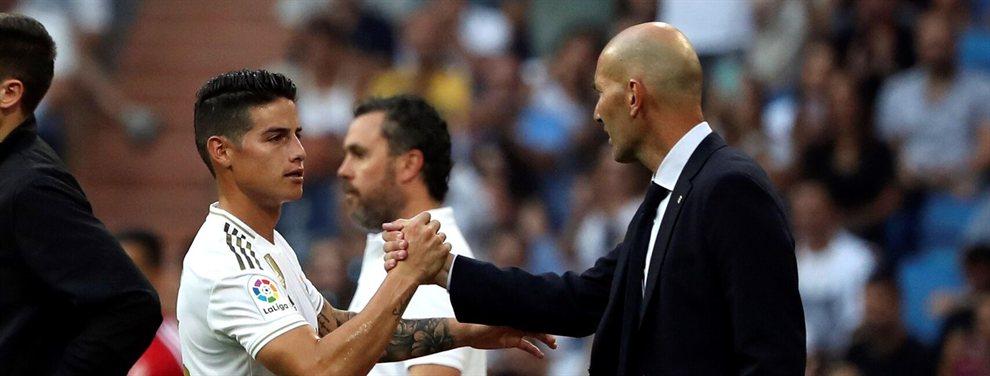 En el Real Madrid dos acontecimientos están marcando estos días, las continuas lesiones y la reconciliación de Zidane con James Rodríguez.