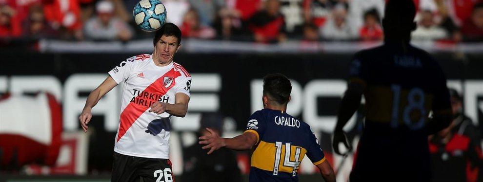 Los puntajes de los futbolistas de River en el Superclásico por la quinta fecha de la Superliga.