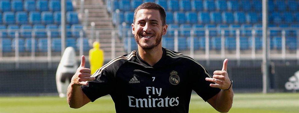 Eden Hazard puede ir a la selección de Bélgica en este parón, lo que no gusta ni un pelo en el Real Madrid