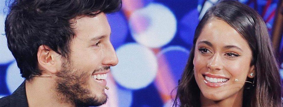 ¡Dónde tocaste! ¡Se le va la mano a Sebastián Yatra y Tini Stoessel sonríe!: ¡Ojo al ardiente detalle! que sorprendió pese al cariño entre la pareja