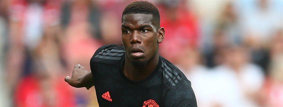 Paul Pogba puede dar la sorpresa y, en lugar de abandonar el Manchester United, renovar su contrato