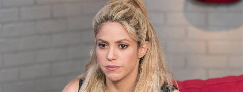 Shakira aparece en una antigua foto antes de un concierto en el que aparece con un detalle bomba