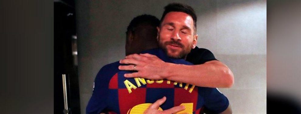 El Barça quiere asesorar bien a Ansumane Fati y es por ello que su agente es el hermano de Messi