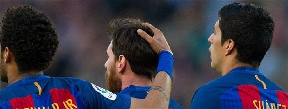 El no fichaje de Neymar ha supuesto una ruptura total en el vestuario del Barcelona