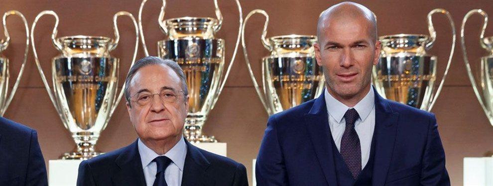 Florentino Pérez y Zinedine Zidane están muy enfadados entre ellos por el mal ambiente