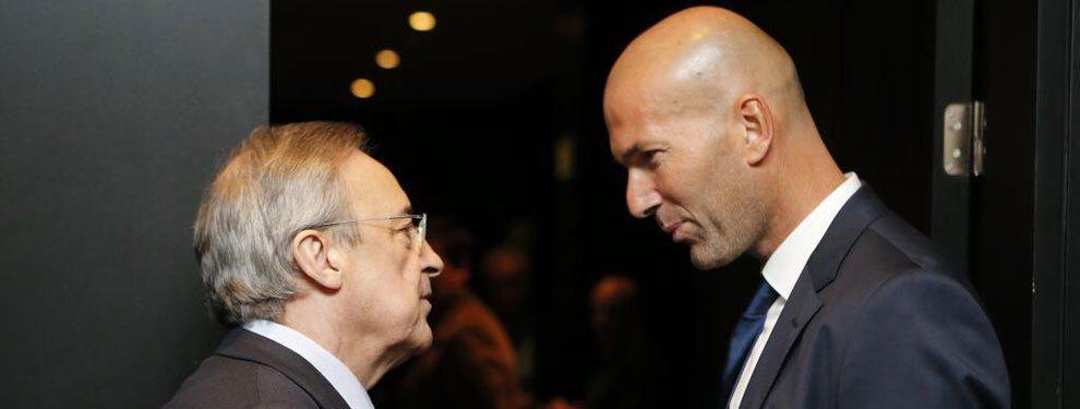 ¡Ojo!: Florentino Pérez le habla claro a 'Zizou' y quiere esto, ¡sí o sí!: Exige al entrenador francés una gestión eficaz y que cumpla con estos jugadores