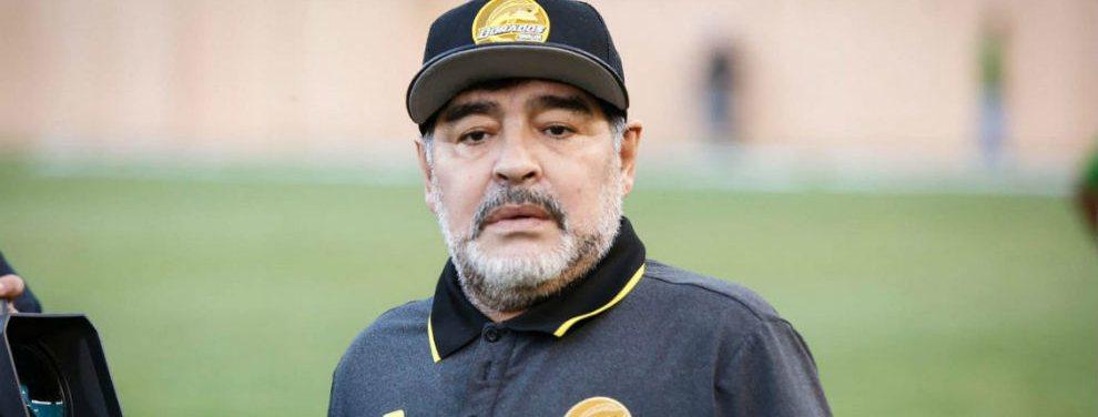 Gimnasia de La Plata aún no se rinde y realizará un último intento para contratar a Diego Maradona.