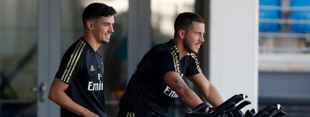Eden Hazard ha regresado al Real Madrid después de ser convocado por Bélgica para los amistosos