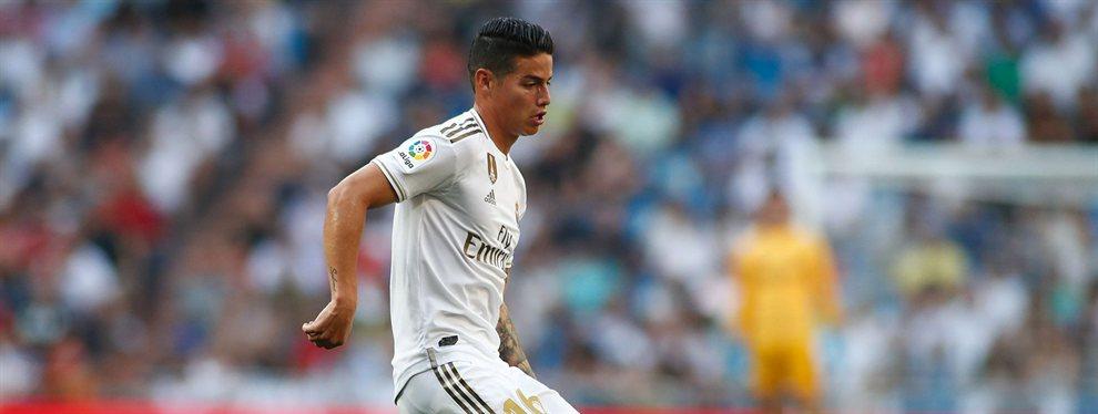 James Rodríguez se está esforzando como nunca para recuperar su mejor nivel, algo que en el Real Madrid aplauden