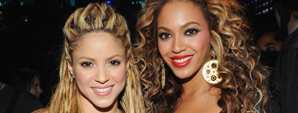 Con motivo del cumpleaños de Beyoncé, una cuenta de fans rescató una vieja foto con Shakira