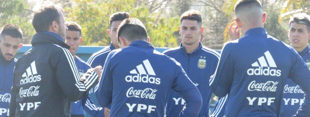 La Selección Argentina Sub 23 se mide frente a su par de Bolivia en la primera prueba antes de los Preolímpicos.
