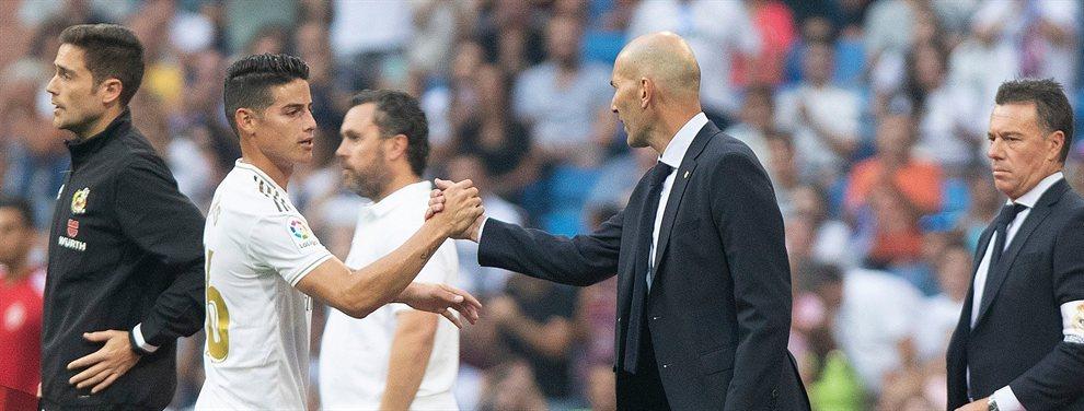 El jugador vive una pesadilla y no es ni la sombra del jugador que fue. Muchos ya culpan a Zidane
