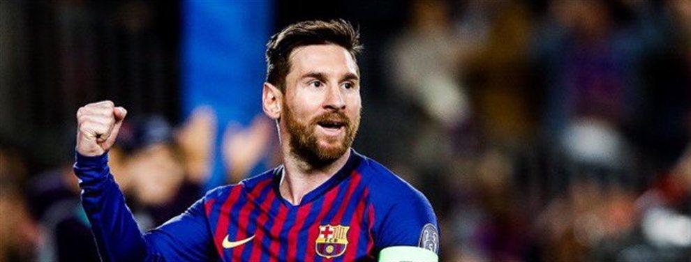 Leo Messi puede romper su contrato con el Barcelona este mismo año. La directiva no puede frenarle
