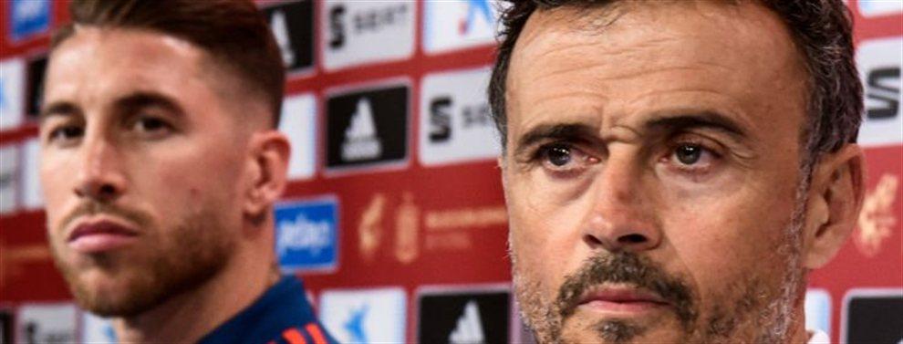 La selección española juega contra el combinado rumano con la cabeza puesta en vencer para poder dedicarle la victoria a Luis Enrique