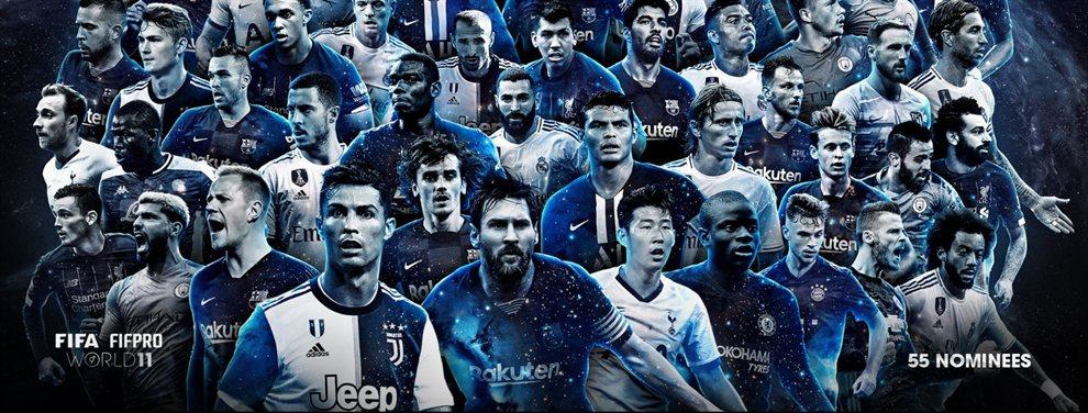 Lionel Messi y Sergio Agüero fueron nominados por la FIFA para integrar el mejor equipo del año.