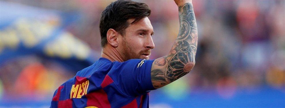 El contrato de Lionel Messi posee una cláusula que le permite al rosarino irse del Barcelona cuando quiera.