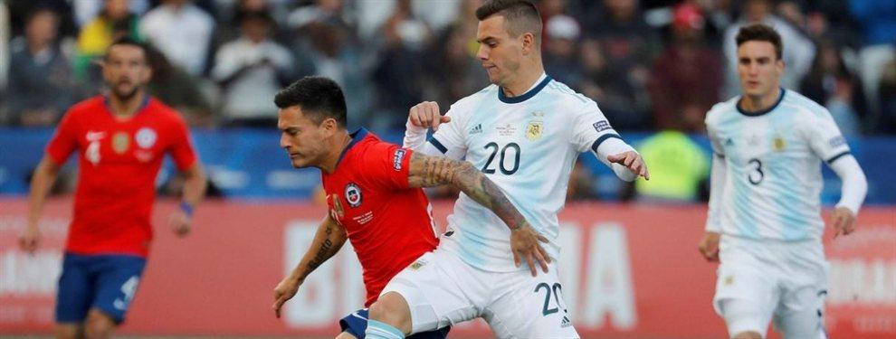 La Selección Argentina se enfrenta con Chile en un partido amistoso en Los Ángeles.