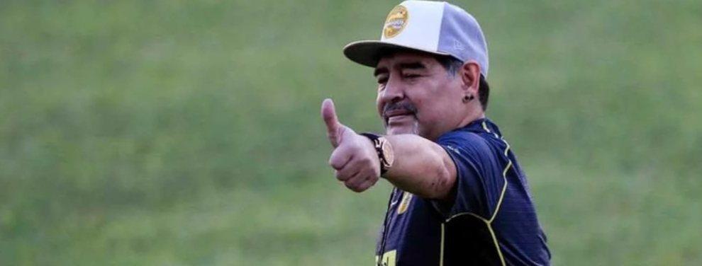 La inminente confirmación de Diego Armando Maradona como entrenador de Gimnasia de La Plata causa furor.