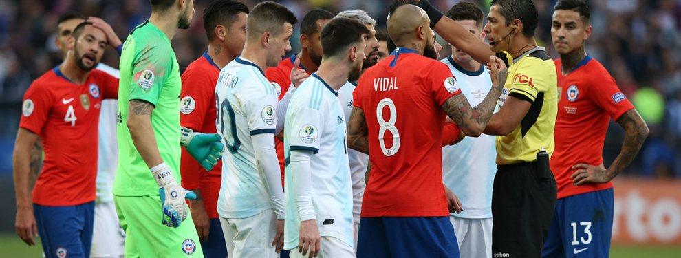 Con la ausencia de Lionel Messi, la Selección Argentina se enfrenta con Chile en un amistoso.