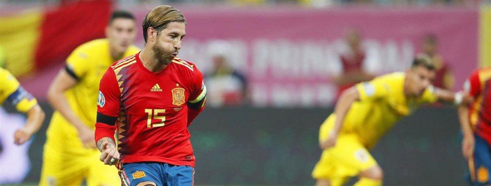 Paco Alcácer le dijo a Sergio Ramos que su compañero Jadon Sancho sueña con el Real Madrid