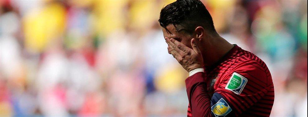 Cristiano Ronaldo no tiene tiempo para escuchar las quejas de sus compañeros y no hace caso a sus súplicas