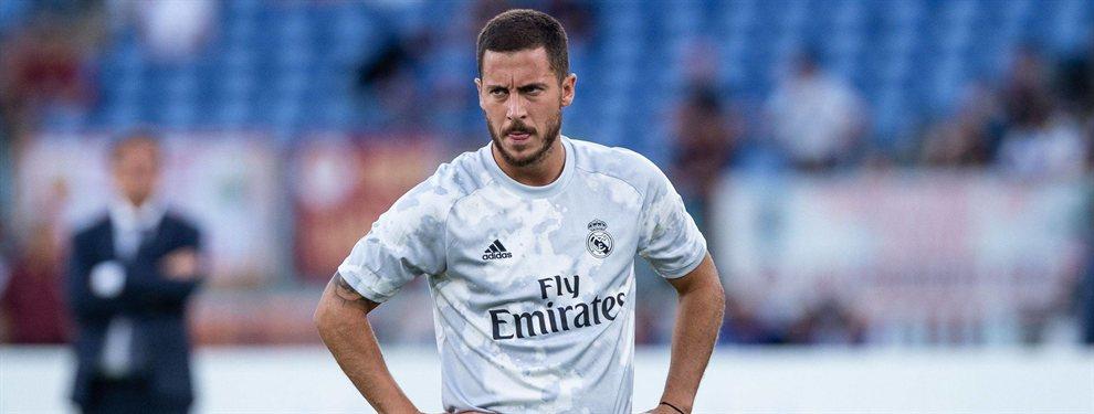 Eden Hazard aún no está al 100% y debutará con el Real Madrid ante el Levante siendo suplente