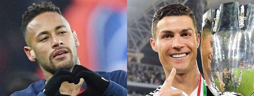 La Juventus de Cristiano Ronaldo prepara el fichaje de Neymar Junior para dinamitar al Barça y al Real Madrid