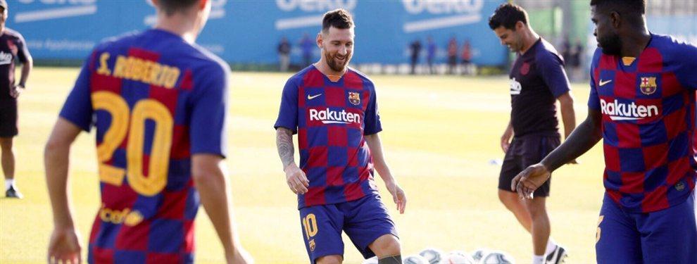 Leo Messi ha prohibido una incorporación al Barça, si no quieren que haga uso de su cláusula
