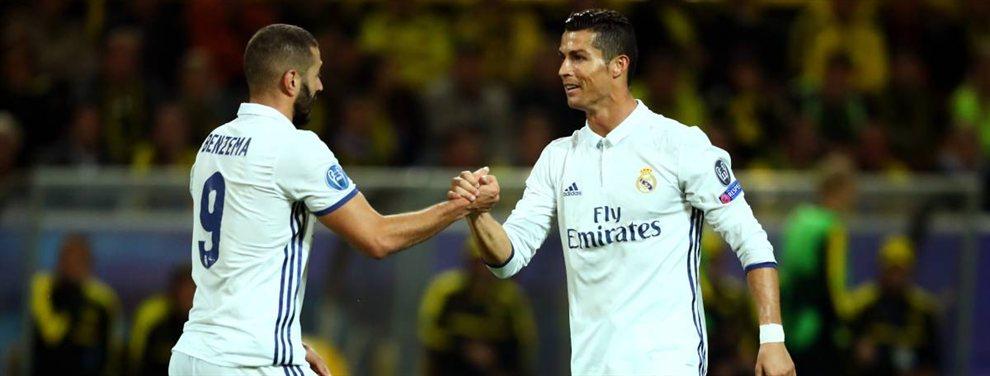 Cristiano Ronaldo telefoneó a Karim Benzema para pedirle explicaciones por sus declaraciones