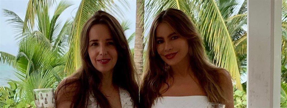 Sofía Vergara la lía con esta foto de sus vacaciones:La actriz está impresionante, sus curvas son un escándalo