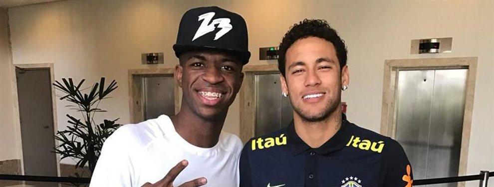 La bomba secreta de 250 'kilos' de Florentino Pérez ¡Vinicius está fuera!: PSG y la Juventus de Cristiano Ronaldo alucinan ¡Se viene el bombazo del año!