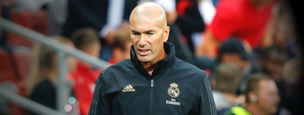 Luka Modric y Zinedine Zidane se las tuvieron en una discusión acerca de su futuro