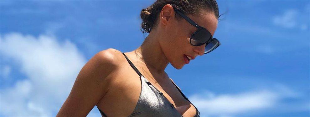 ¡No hay nada más mini! Pampita en la playa: ¡Mira la foto!