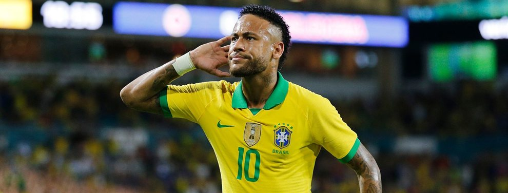 Neymar Junior puede dejar tirado al Barça y acabar en el Manchester United junto a Paul Pogba