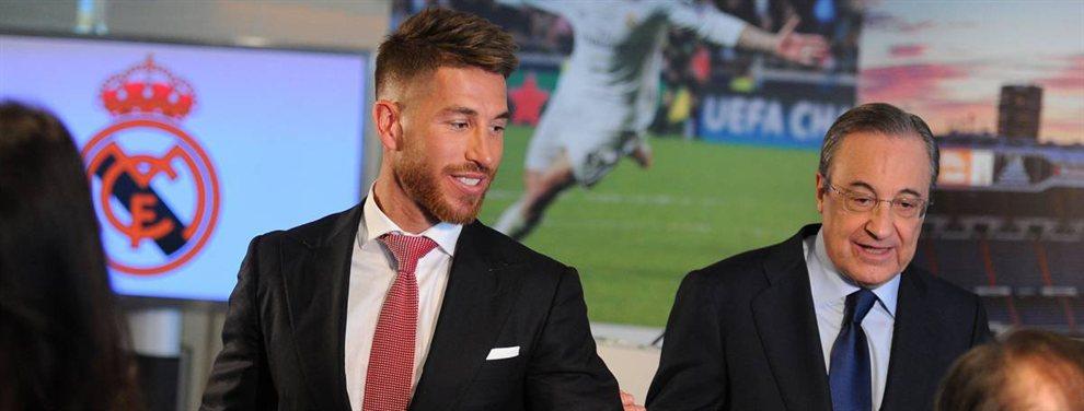 Sergio Ramos vive sus últimos meses como jugador del Real Madrid y van Dijk sería su relevo