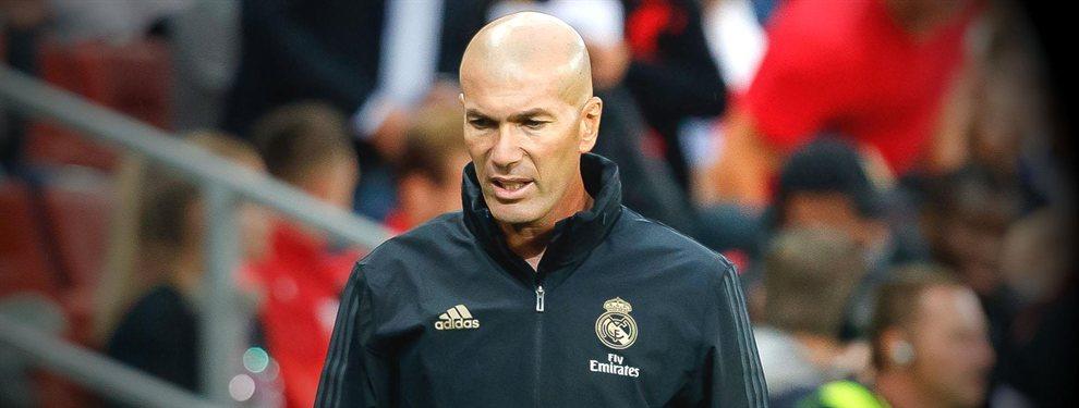 Zinedine Zidane está harto de Álvaro Odriozola y puede salir en el mercado invernal
