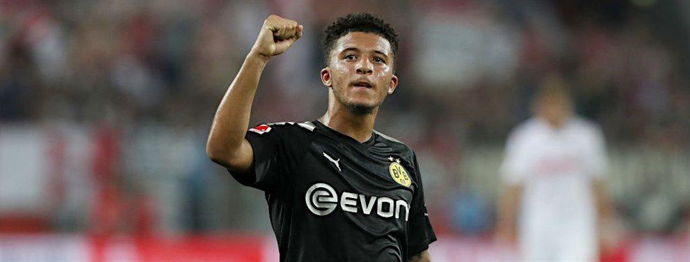 El Borussia Dortmund pide el oro y el moro por Jadon Sancho, en la agenda del Barça