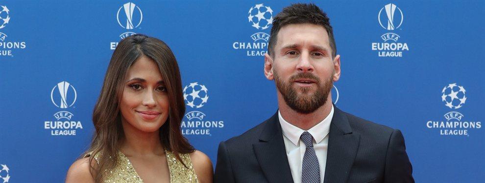 Antonella Roccuzzo despidió el verano con una foto junto a Leo Messi en un barco