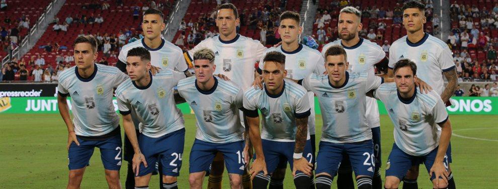 La Selección Argentina se enfrenta con México en San Antonio en el último amistoso de la gira por los Estados Unidos.