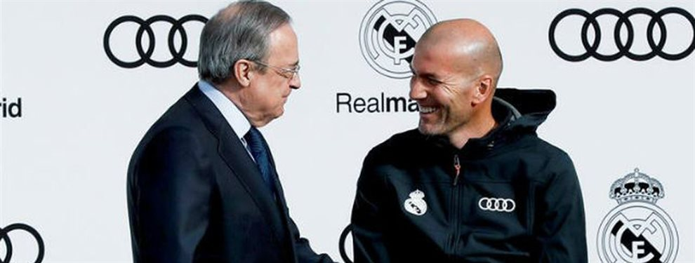 Florentino Pérez quiere traer de vuelta al Real Madrid a Andriy Lunin, pero Zidane no lo quiere