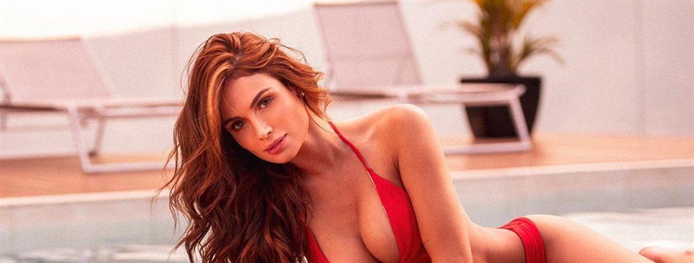 La modelo Sara Uribe se atreve con las puntillas y las transparencias propia de la ropa interior.