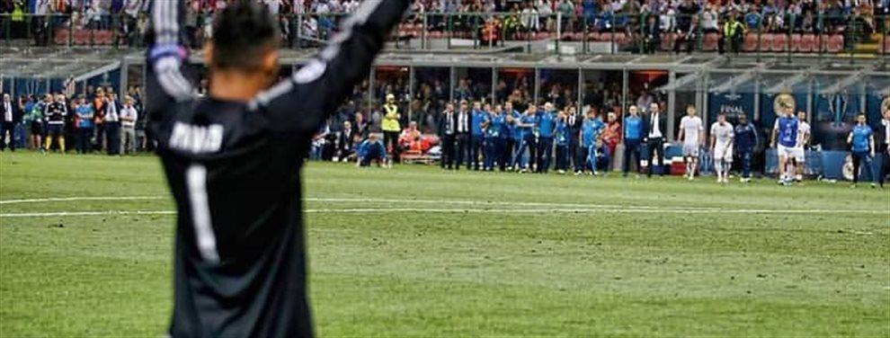 El final de la historia de amor entre Keylor Navas y el Real Madrid ha acabado en llantos para todos