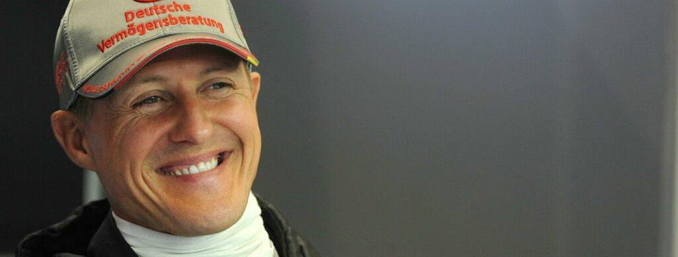 """El campeón ha vuelto: ¡Michael Schumacher """"está consciente""""!. El mundo del motor se congratula desde Fernando Alonso a Lewis Hamilton"""