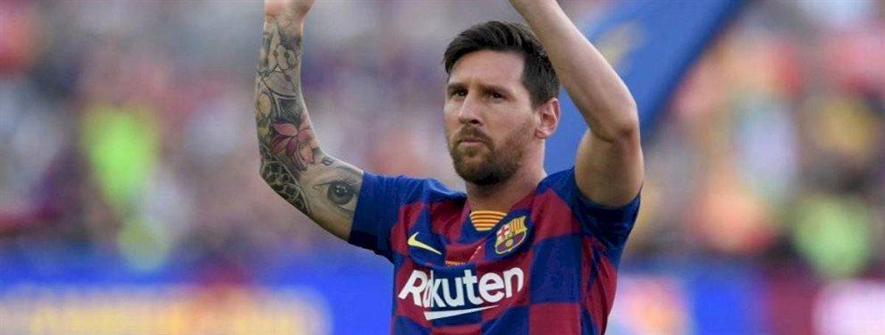 Leo Messi está harto de un titular indiscutible de Ernesto Valverde en el Barça y pide un fichaje para echarle