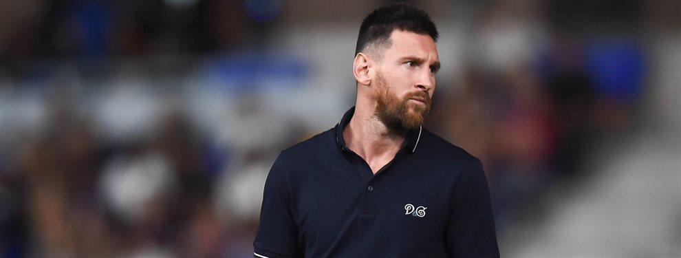 Leo Messi ha recibido una oferta bomba en las últimas 24 horas que estudia muy lentamente